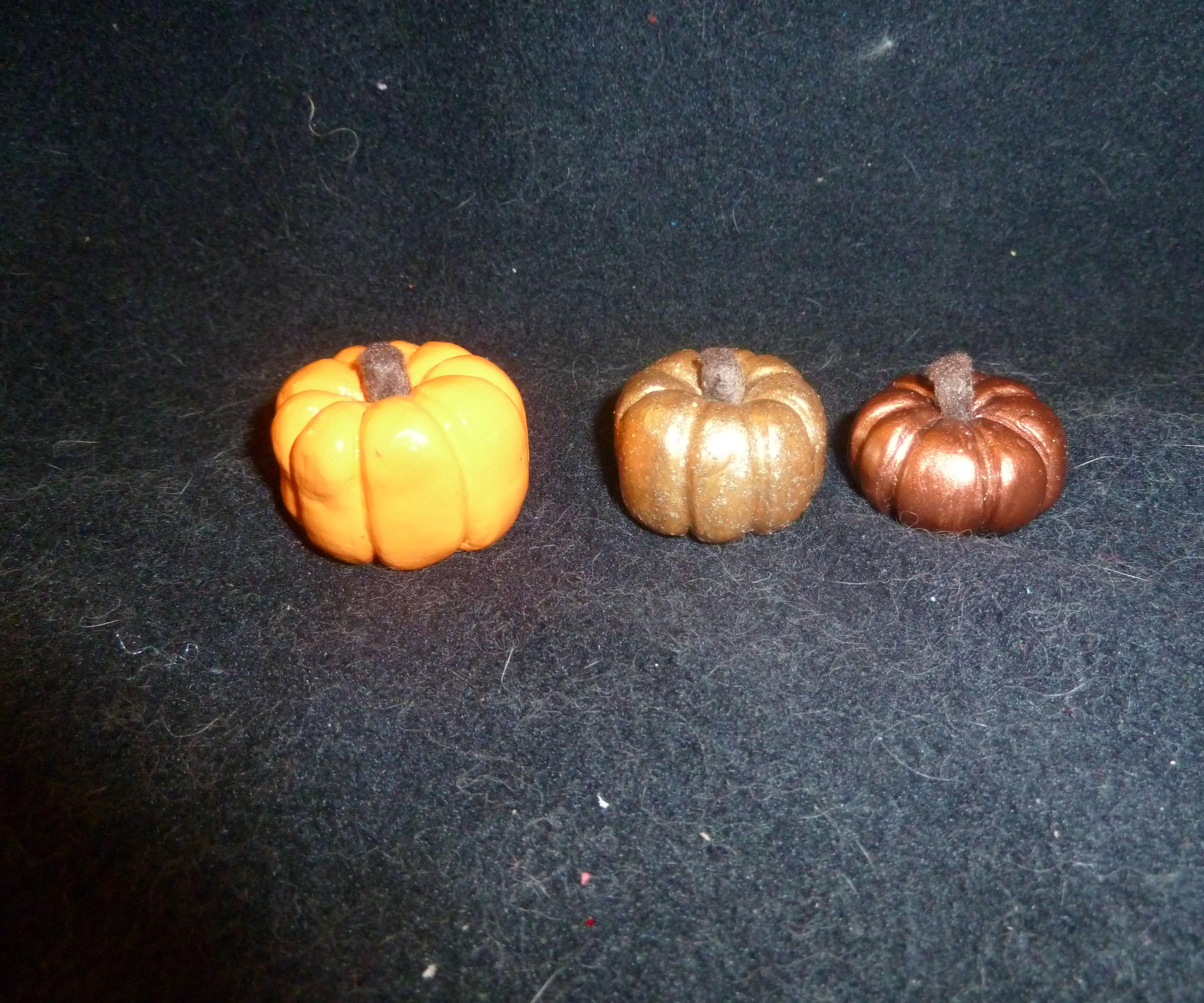 DIY: Clay Pumpkins