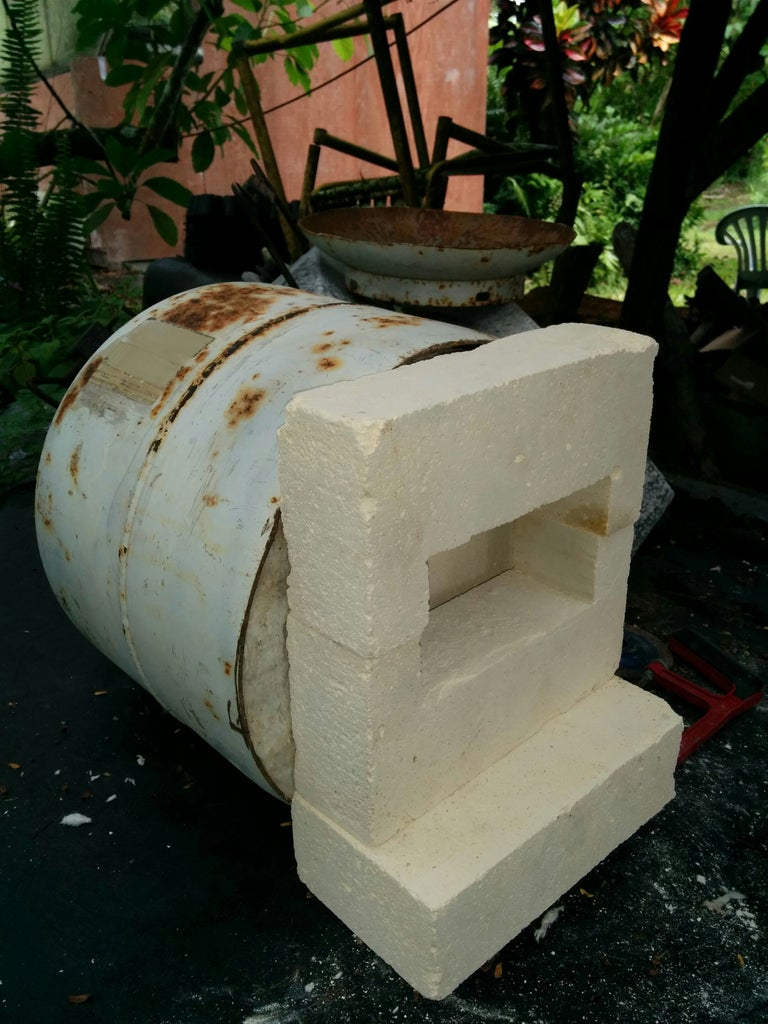 LP Gas Heated Forge