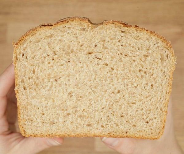 Whole Wheat Sandwich Bread Recipe