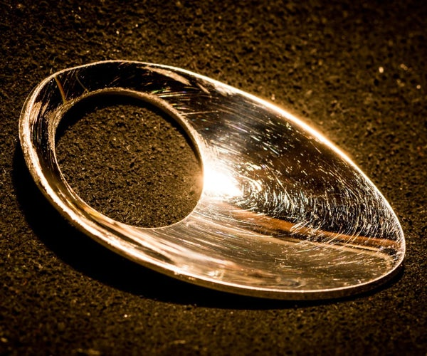Archers Thumb Ring From a Spoon