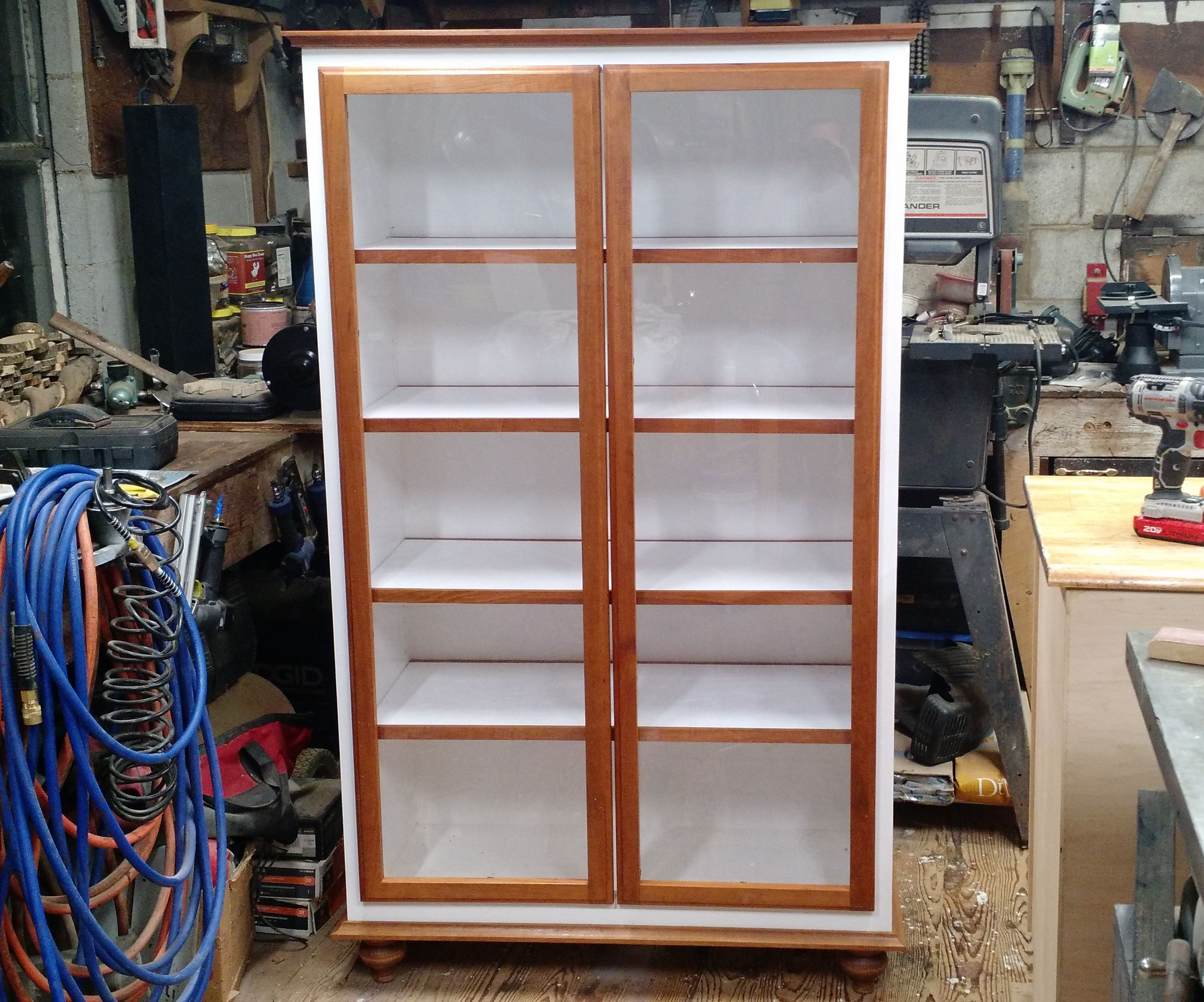 Display Cabinet Curio 9 Steps With Pictures Instructables