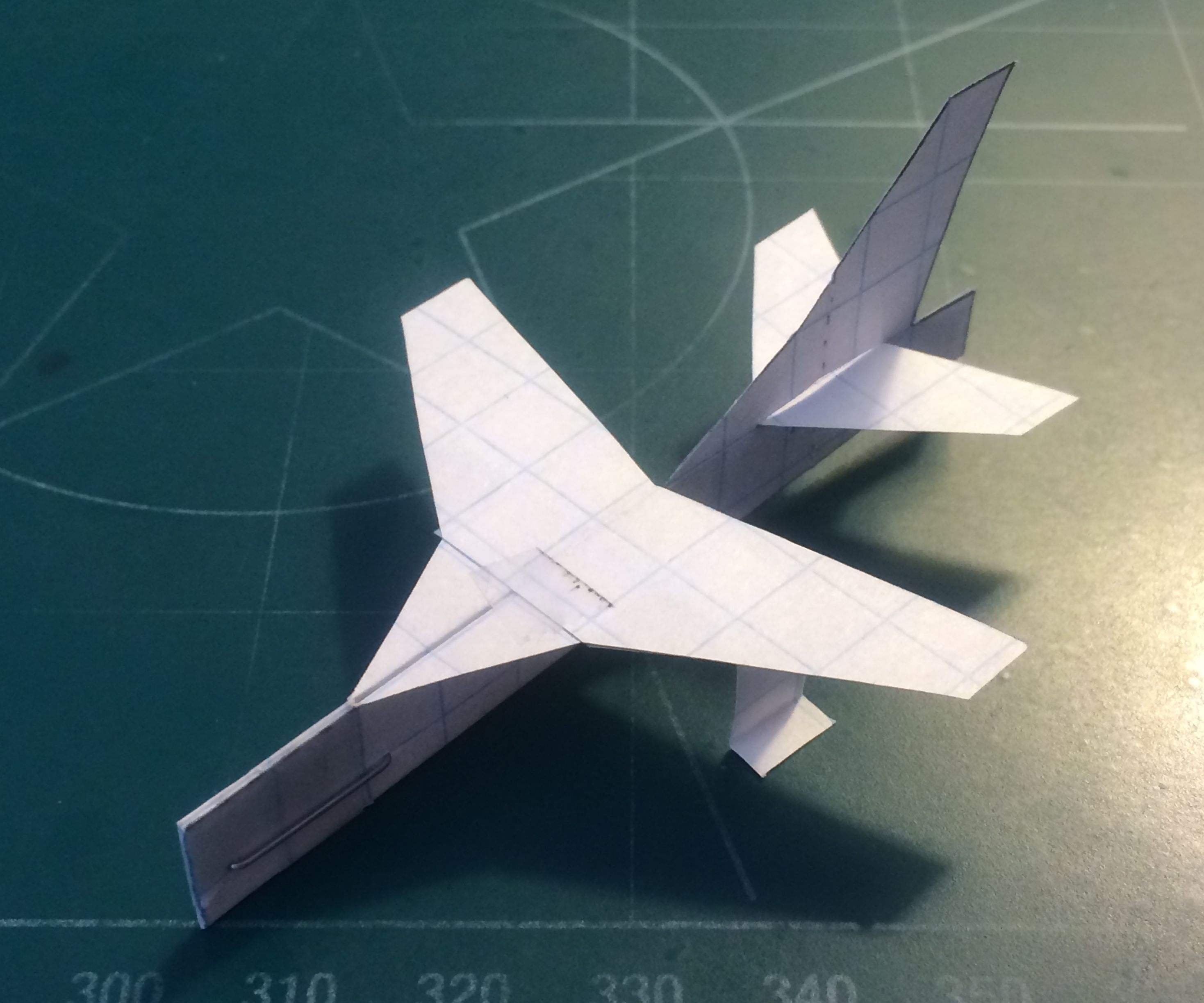 How To Make The Super Scout Paper Airplane