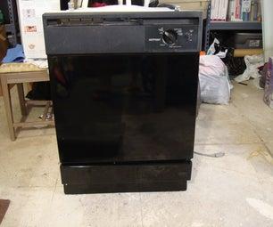 Dishwasher Secret Compartment