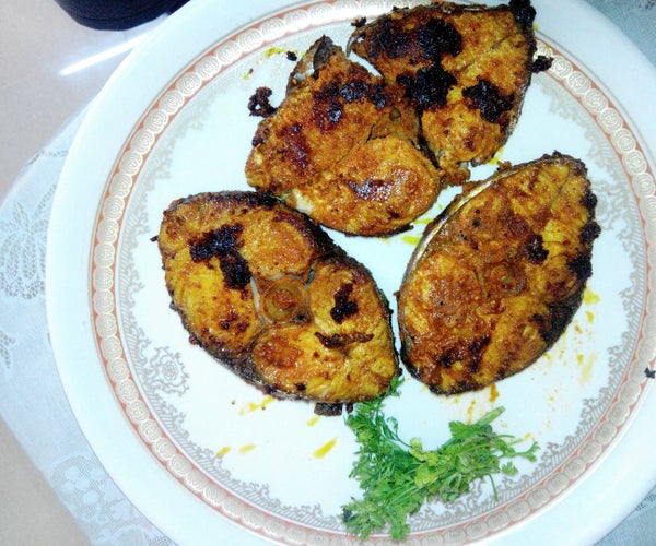 Spicy Indian Fish Fry Recipe