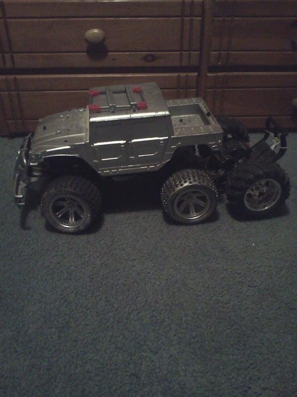 6 Wheeled Rc Truck Tank