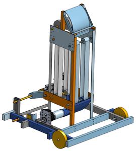 Robot Frame and Main Mechanism Design