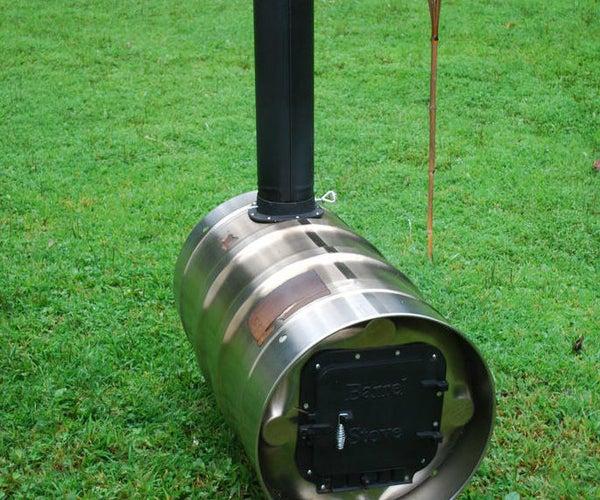 Barrel Furnace Build