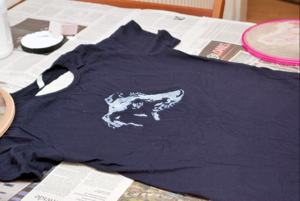 Screen Printing Tutorial Part 3: Printing an Image