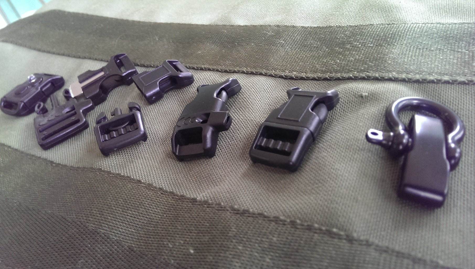 Buckles and Fasteners: