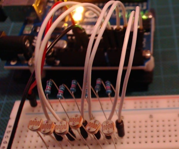 Arduino LDR Motion Tracking