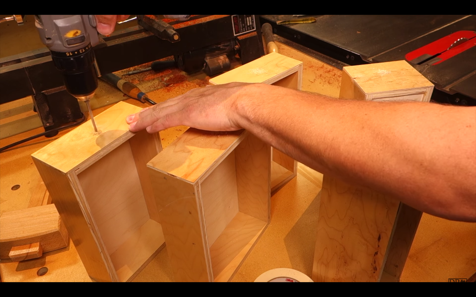 Build the Drawers and You're Done!