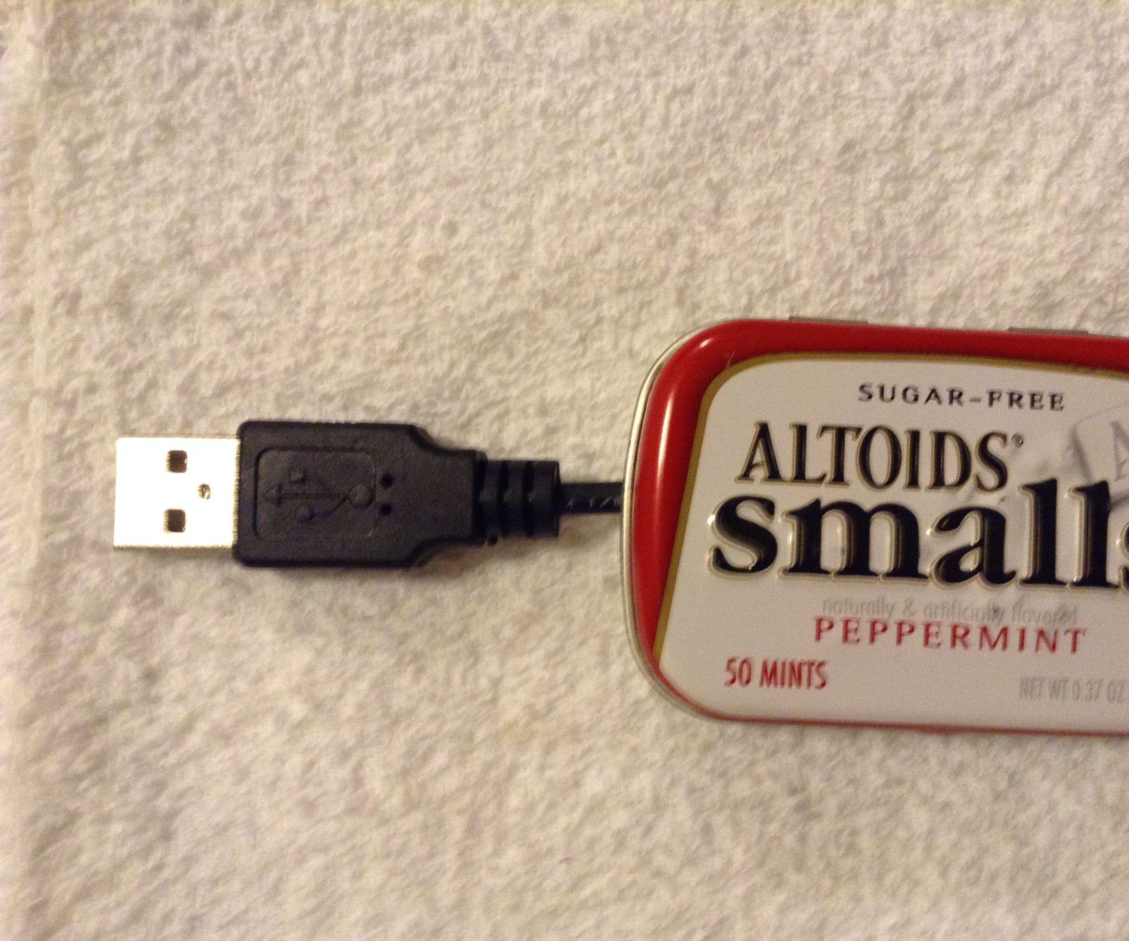 Altoids Small Glovebox Flashlight