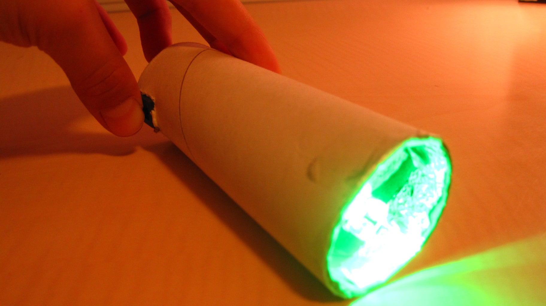 Green LED Flashlight