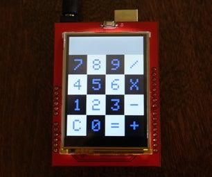 Arduino Touchscreen Calculator