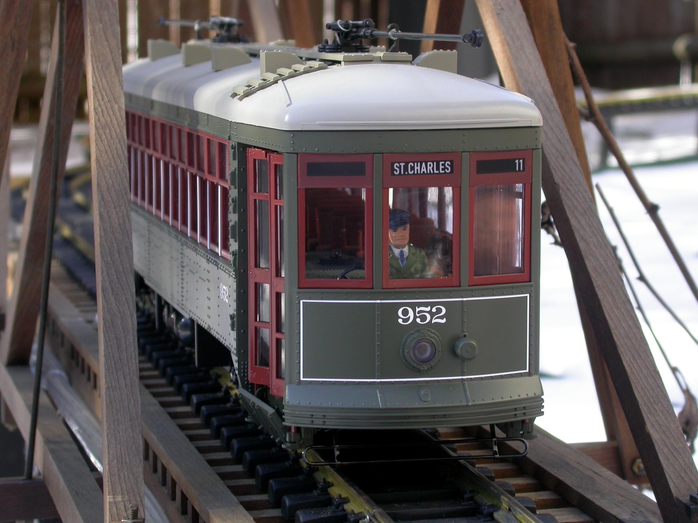 My backyard garden railway