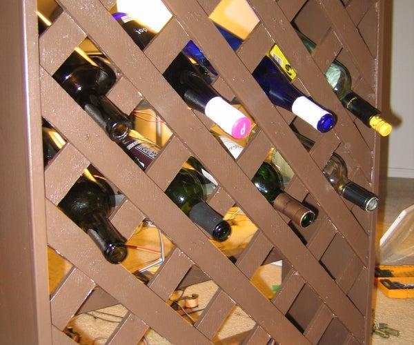 Solenoid Wine Rack
