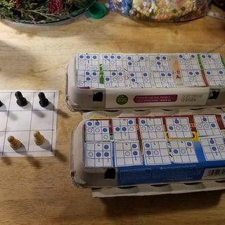 Matchbox Mini Chess Learning Machine