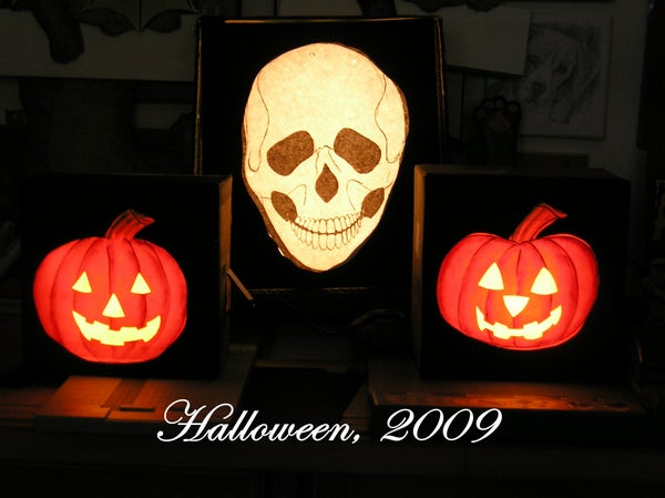 Halloween Lamps You Can Make!