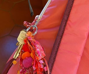 Charms and Key Chains Personalize Backpacks