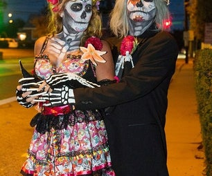 The Sugar Skull Couple