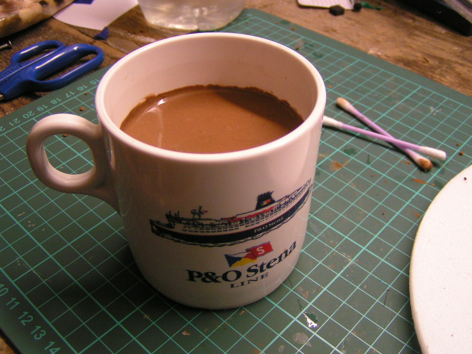 A Hot Chocolate Prop For Children's Role-Play