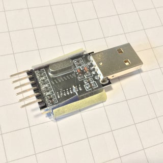 Adding Auto-Reset Pin to PL2303 Based Serial-USB Modules