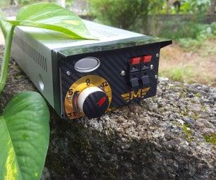 Broken Receiver to Battery Eliminator