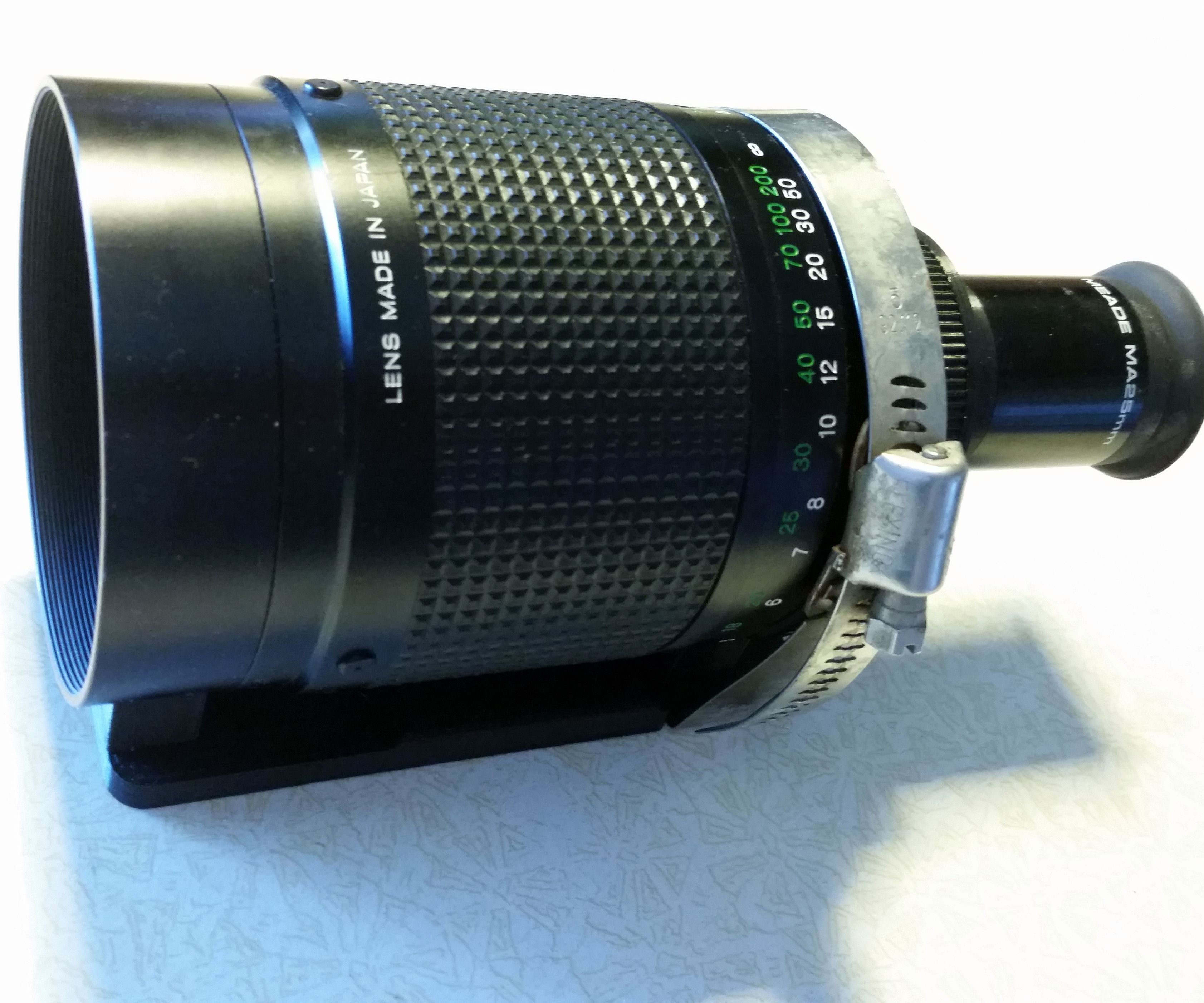Turn an Old SLR Lens Into a Telescope