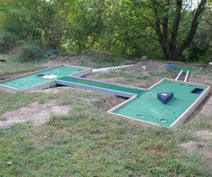 Miniature Golf (Putt Putt) Course