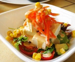Tofu Avocado Salad