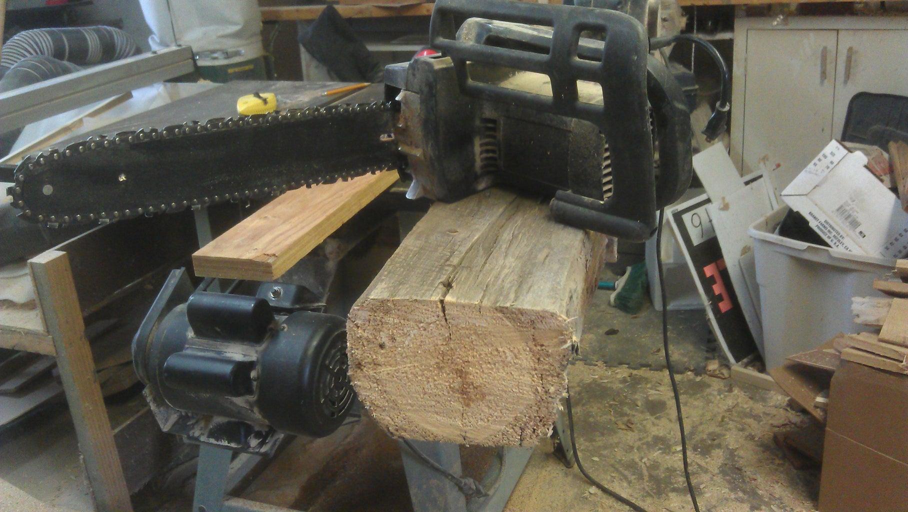 Preparing the Log