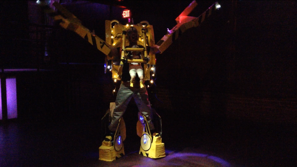 Power Loader:  Baby Sigourney Weaver Alien (1979) Cardboard and Tape Hand made!