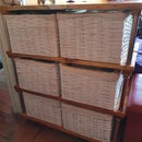 Mueble Porta Canastos (Basket Holder Furniture)
