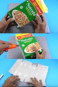 Let's take an Empty Cereal Box!
