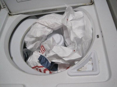 Into the Washer