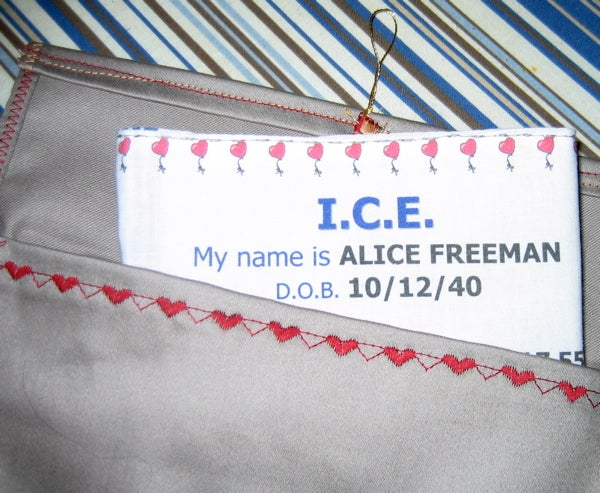 Mother's Day ICE Hankie
