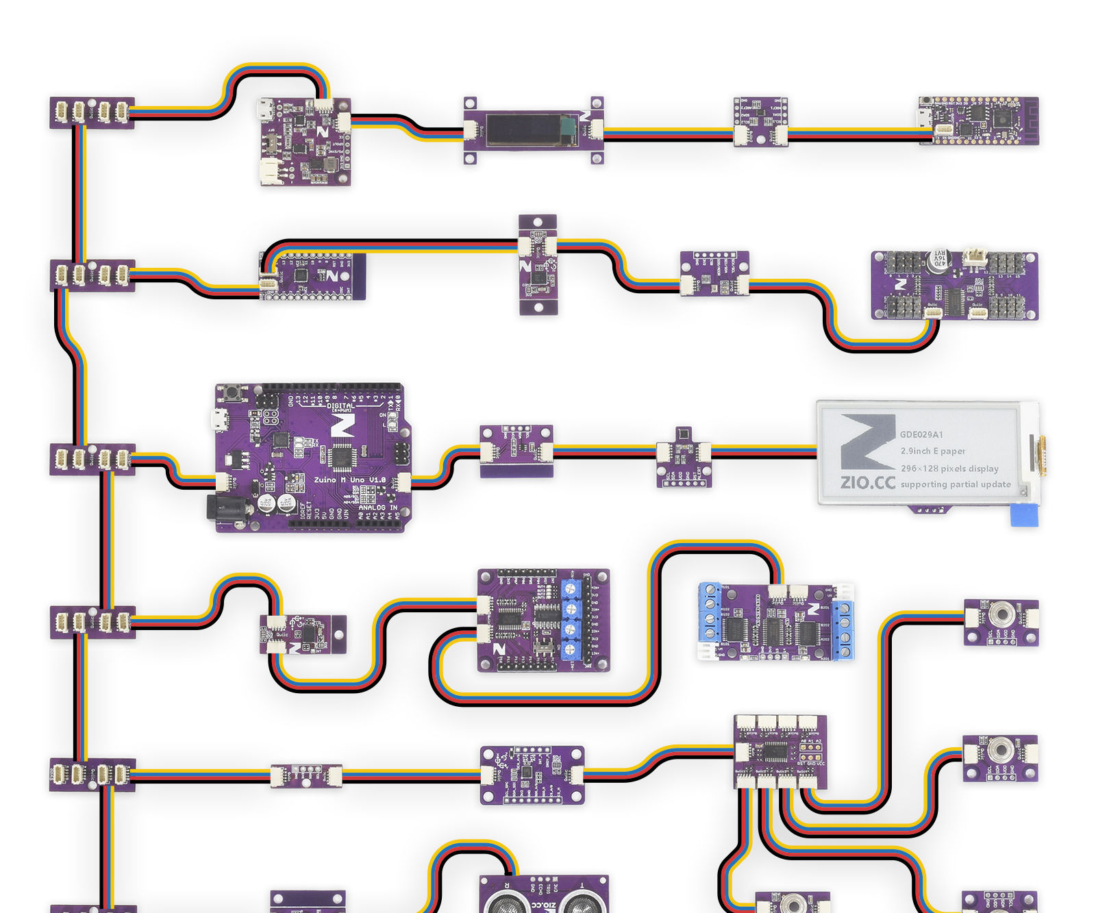 Introducing I2C With Zio Modules and Qwiic