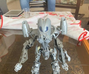 Make a Cool Samurai Robot From Bionicles