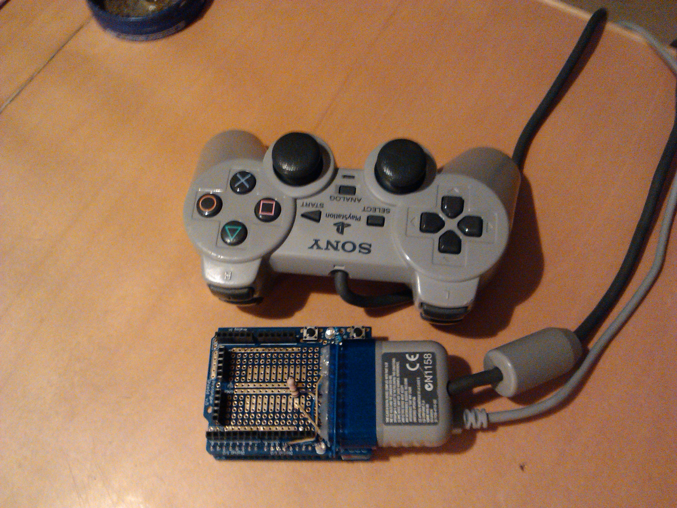 Use playstation remote on pc with arduino