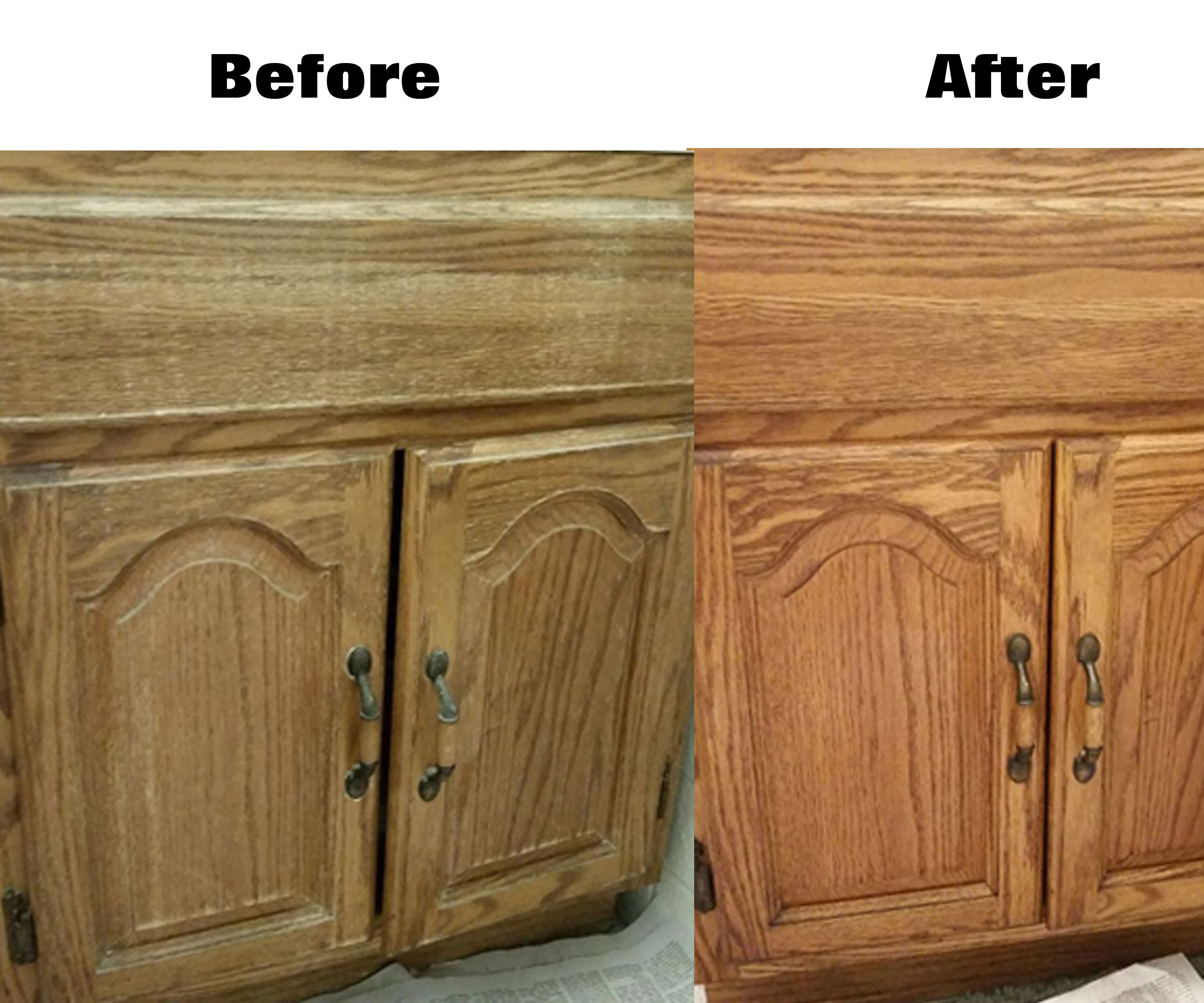 Image of: Easily Renew Wood Cabinets Without Actually Refinishing 6 Steps With Pictures Instructables