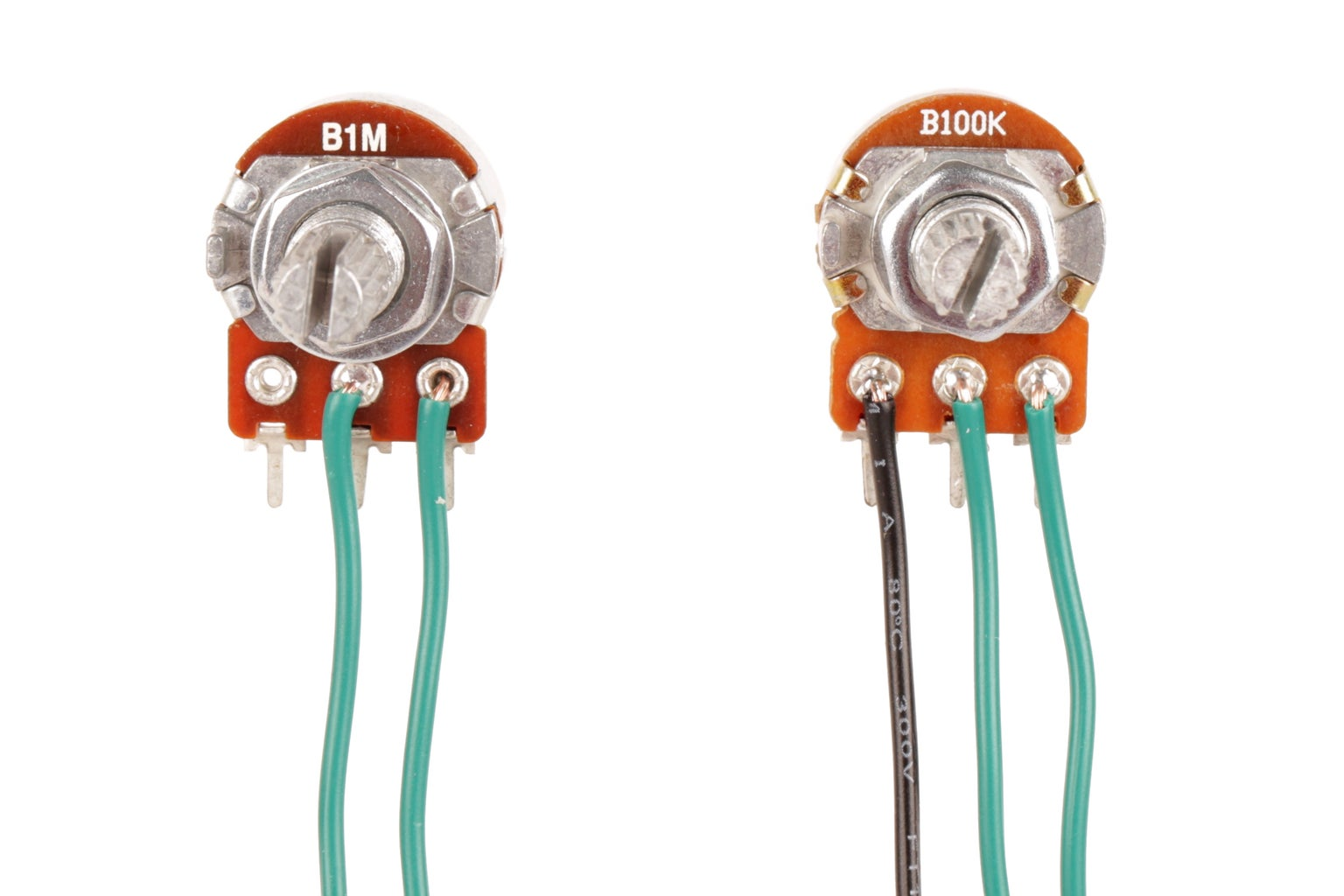 Wire the Potentiometers