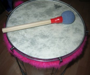 Make Your Own Drum/ Surdo Beaters