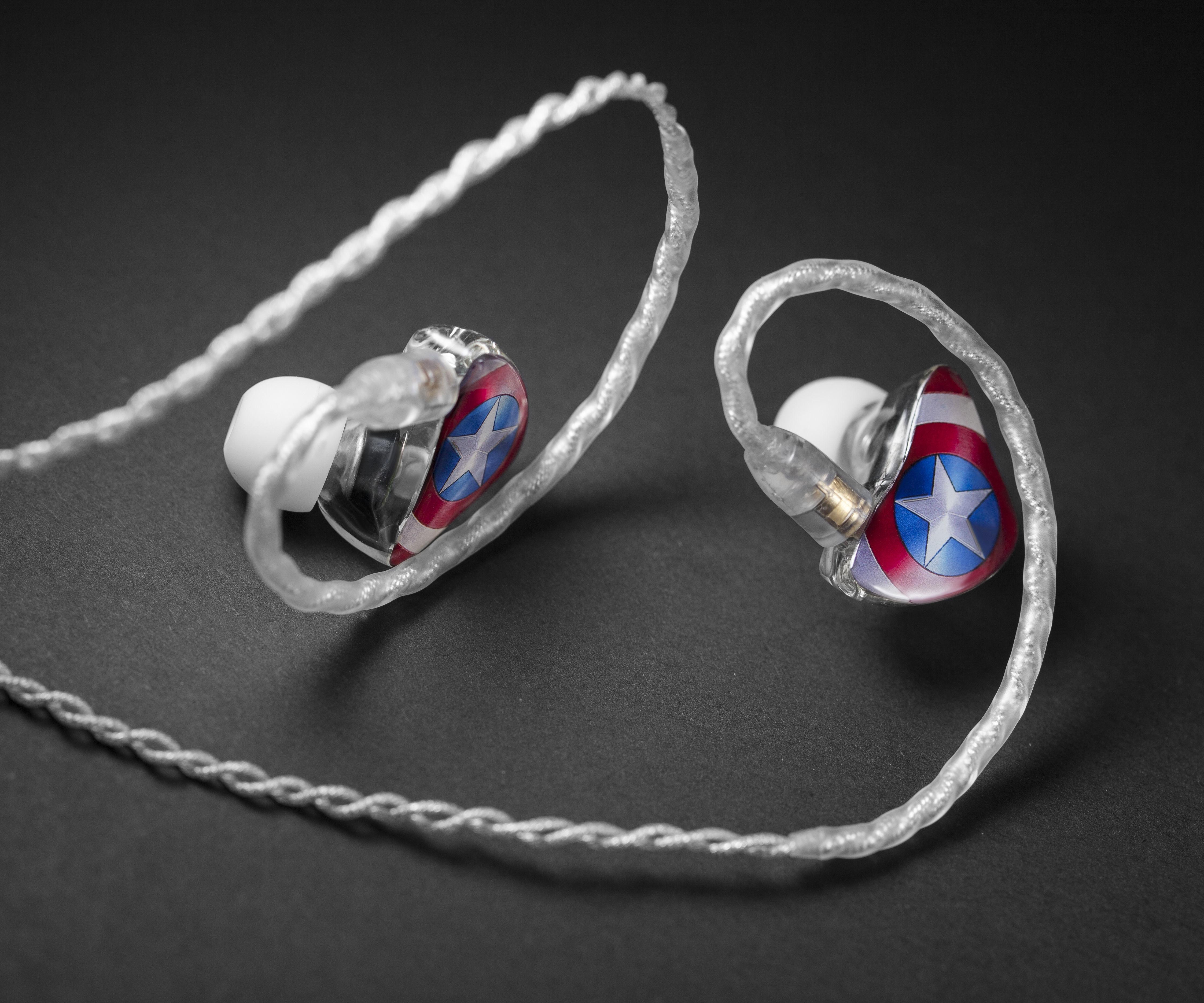 How to DIY a set of pictrue pannel earphones
