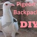DIY pigeon backpack