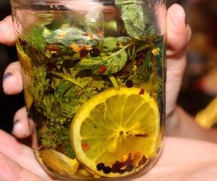 为您的橄榄油注入口味晚餐