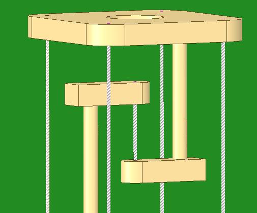 Tensegrity - Desk Model