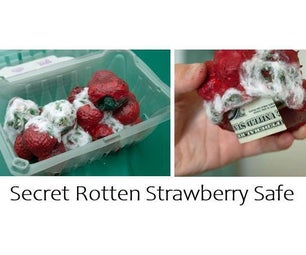 Secret Rotten Strawberry Safe
