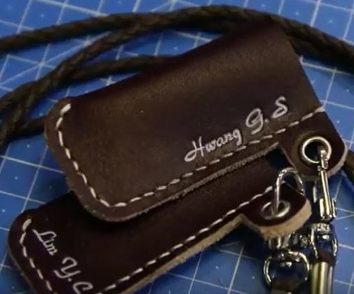 [Leather Working Tutorial] Chapter 1. Leather Lighter Case