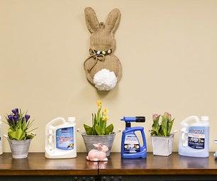DIY Burlap Easter Bunny