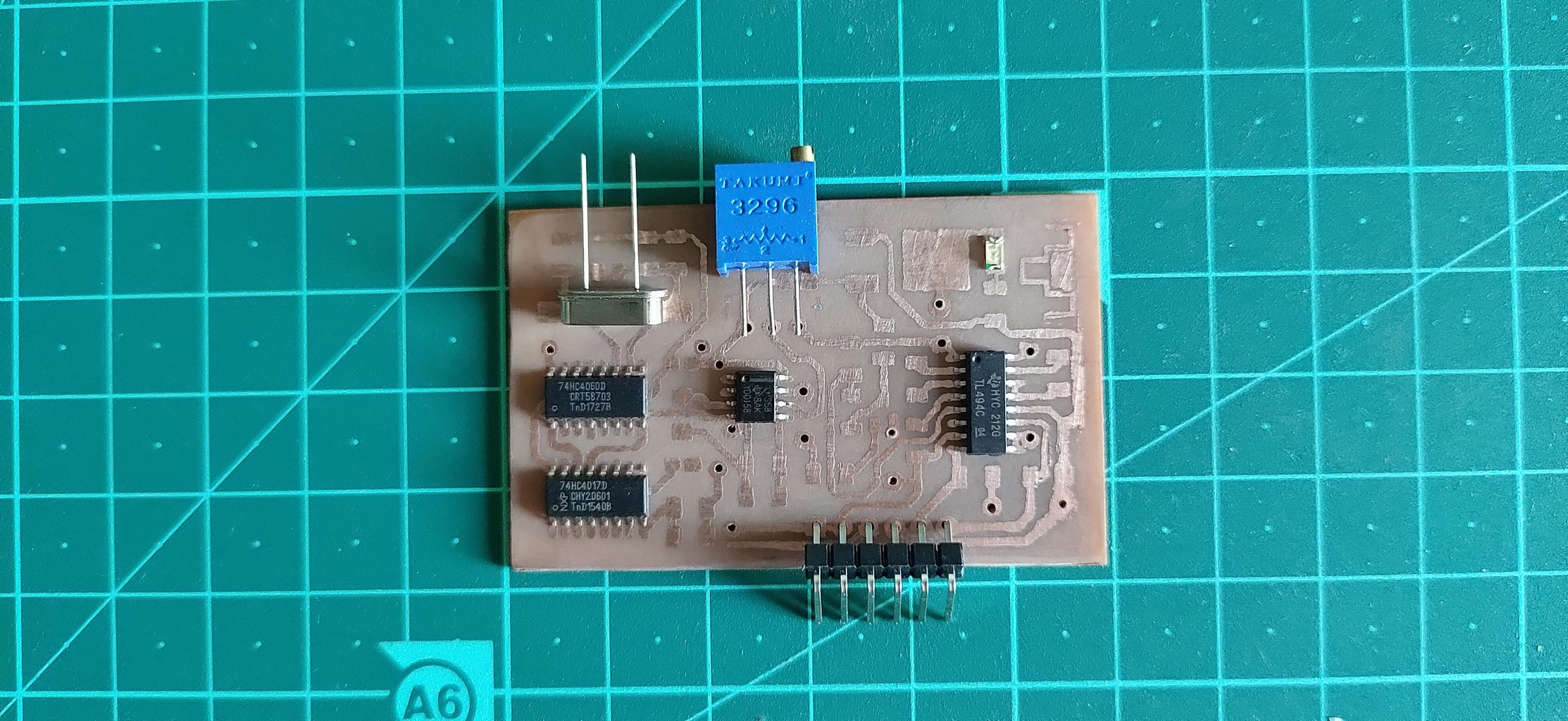 Finishing Up the PCB